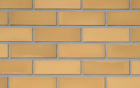 Фасадная клинкерная плитка ROBEN Rimini желтый-пестрый, 240x9x71