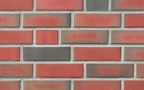 Фасадная клинкерная плитка ROBEN Westerwald bunt, NF