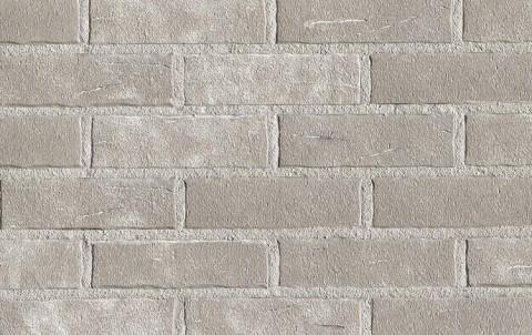 Фасадная клинкерная плитка ROBEN Aarhus weiss-grau, NF рядовая