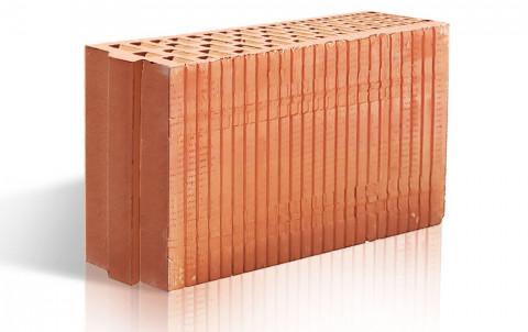 Поризованный керамический блок ЛСР перегородочный 6,9 NF