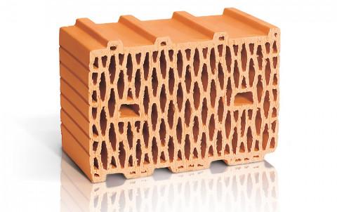 Поризованный керамический блок ЛСР поризованный теплый рядовой 10,7 NF