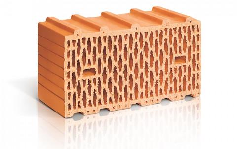 Поризованный керамический блок ЛСР поризованный рядовой 14,3 NF