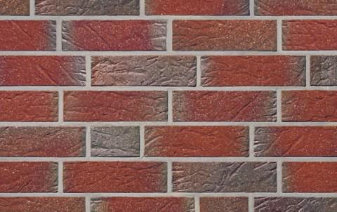 Фасадная плитка ручной формовки ROBEN Greetsiel friesisch bunt genarbt besandet, DF угловая