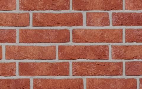 Фасадная плитка ручной формовки ROBEN Formback rot-braun, NF рядовая