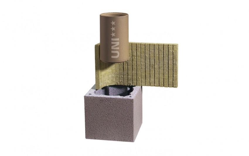 Комплект Schiedel одноходовый с вентиляцией d=18L (0,33 пог.м)
