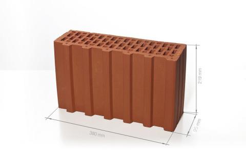 Поризованный керамический блок BRAER Ceramic Thermo 5,4 NF  (тестовая партия)