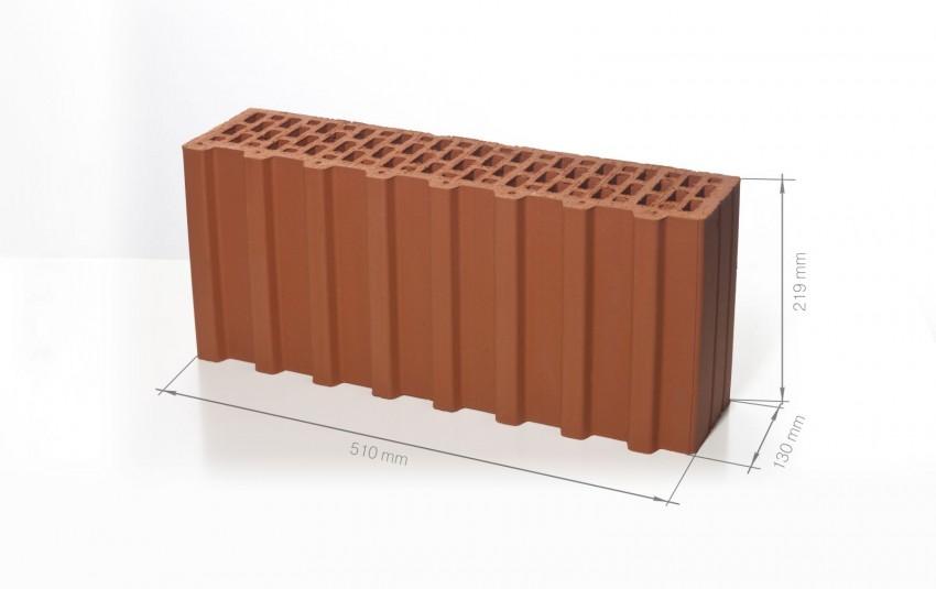 Поризованный керамический блок BRAER Ceramic Thermo 7,1 NF