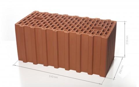 Поризованный керамический блок 51 BRAER Ceramic Thermo 14,3 NF
