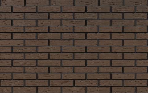 облицовочный кирпич коричневый рифленый 0,7 нф