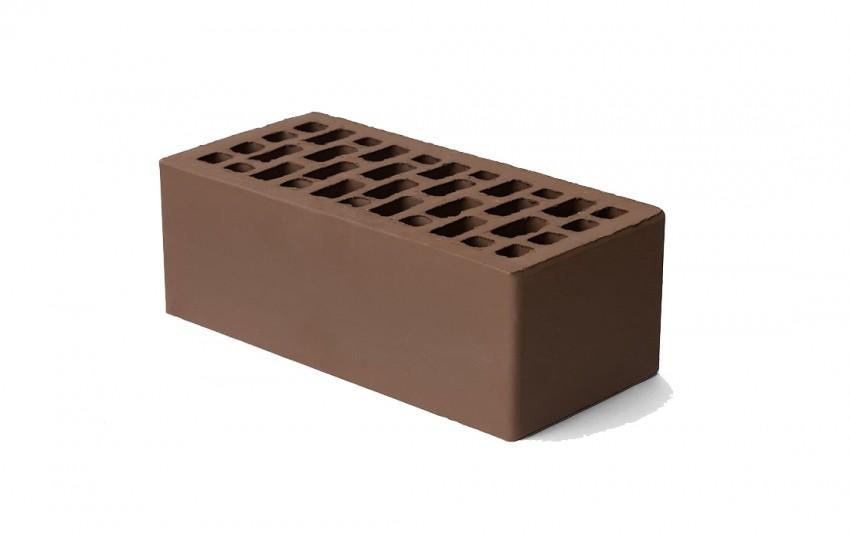 Облицовочный кирпич Браер, светло-коричневый, гладкий, 1,4 нф