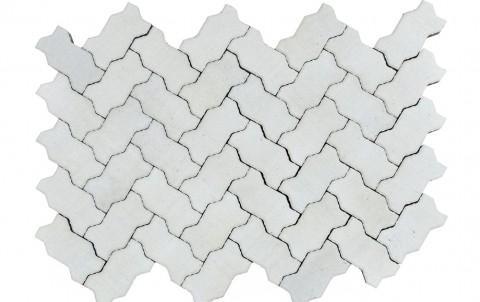 Тротуарная плитка BRAER Волна, циркон, h= 70