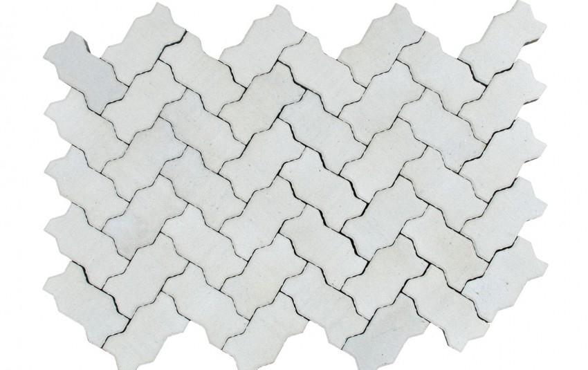Тротуарная плитка BRAER Волна, Циркон, h=70 мм