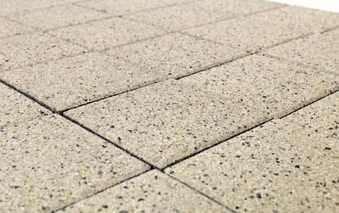 Тротуарная плитка BRAER Лувр, мрамор, h= 60