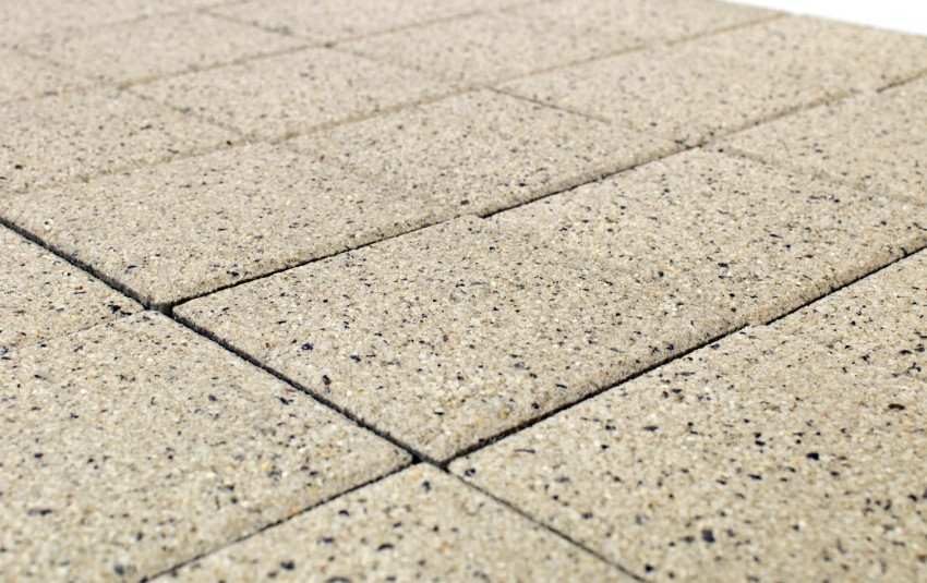 Тротуарная плитка BRAER Лувр, Мрамор Тип 1, h=60 мм