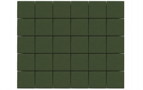 Тротуарная плитка BRAER Лувр, травяной, h= 60