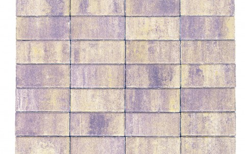 Тротуарная плитка BRAER Прямоугольник, прайд, h= 40