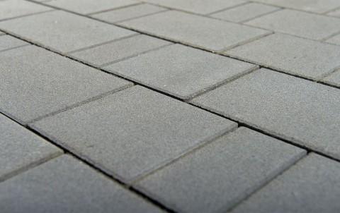 Тротуарная плитка BRAER Старый город, серый, h= 80