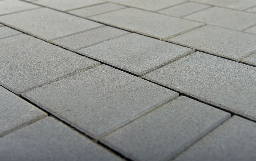 Тротуарная плитка BRAER Старый город, Серый, h=80 мм