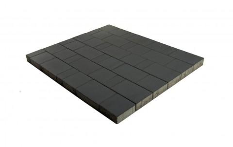Тротуарная плитка BRAER Старый город Ландхаус, черный, h= 60