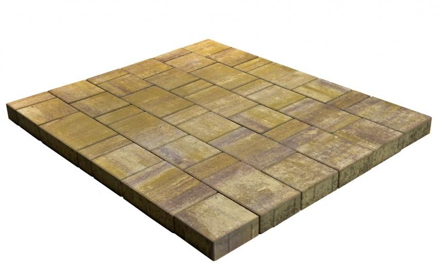 Тротуарная плитка BRAER Старый город Ландхаус, степь, h= 60