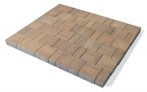 Тротуарная плитка BRAER Старый город Ландхаус, прайд, h= 60