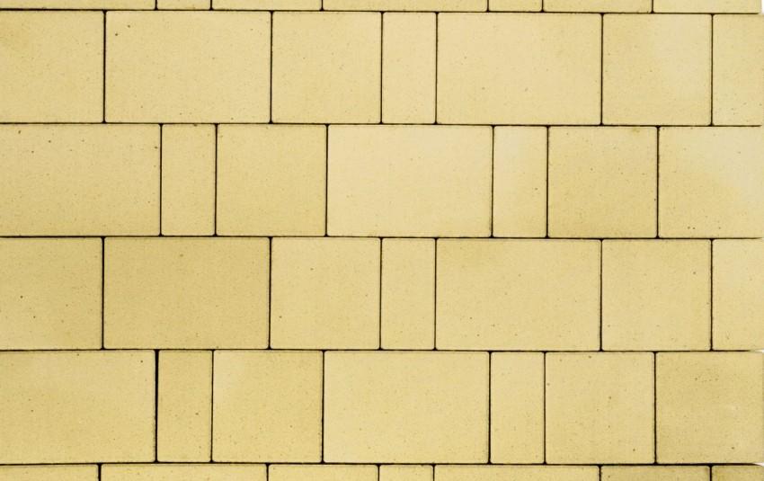 """Тротуарная плитка BRAER Старый город """"Ландхаус"""", Песочный, h=60 мм"""