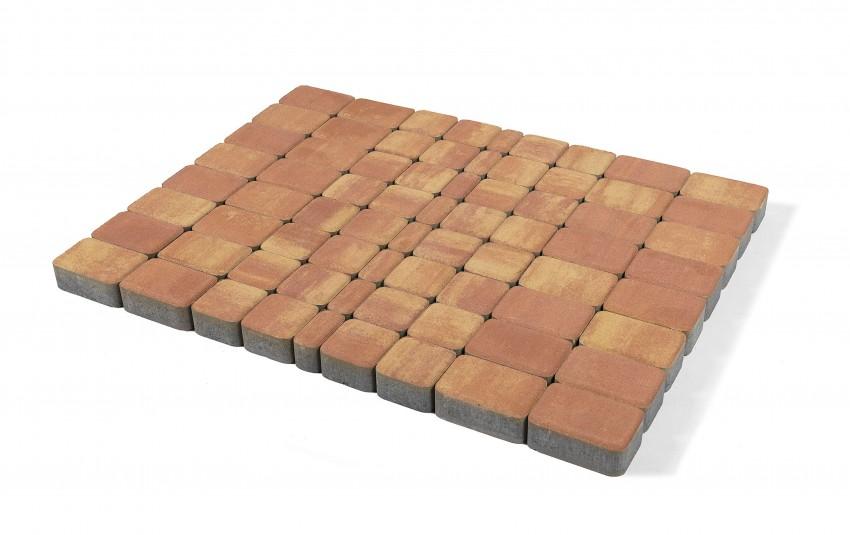 Тротуарная плитка BRAER Классико, рассвет, h= 60