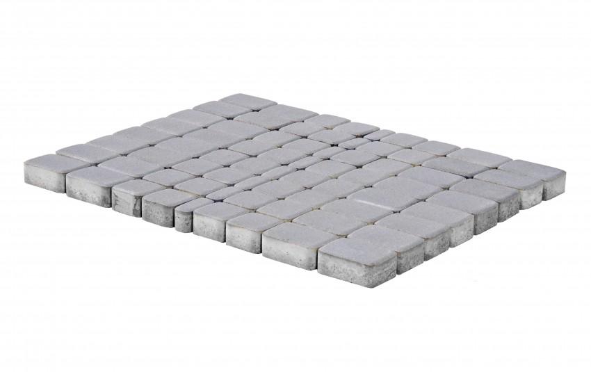 Тротуарная плитка BRAER Классико, Грифельный, h=60 мм