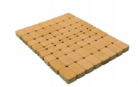 Тротуарная плитка BRAER Классико, медовый, h= 60