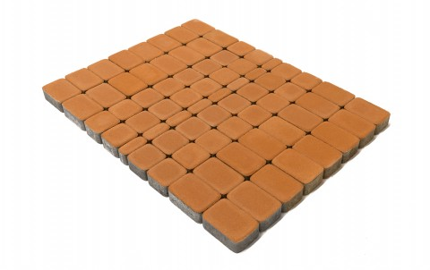 Тротуарная плитка BRAER Классико, янтарный, h= 60
