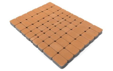 Тротуарная плитка BRAER Классико, коралловый, h= 60