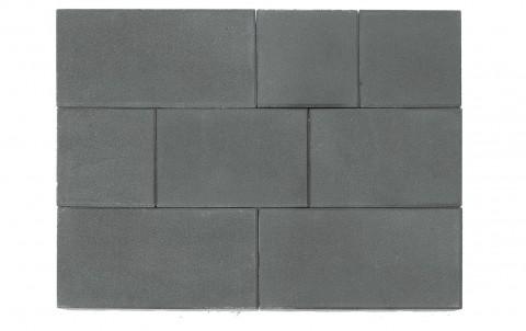 Тротуарная плитка BRAER Триада, серый, h= 60
