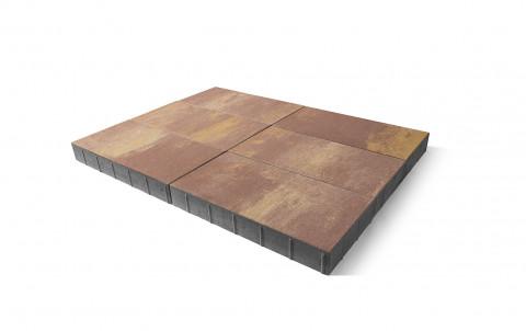 Тротуарная плитка BRAER Сити, каньон, h= 80