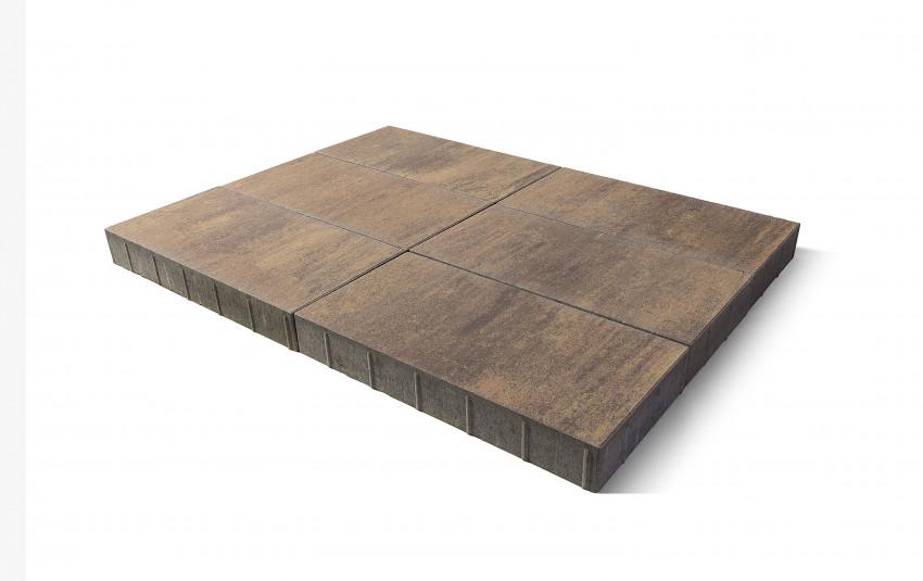Тротуарная плитка BRAER Сити, прайд, h= 80