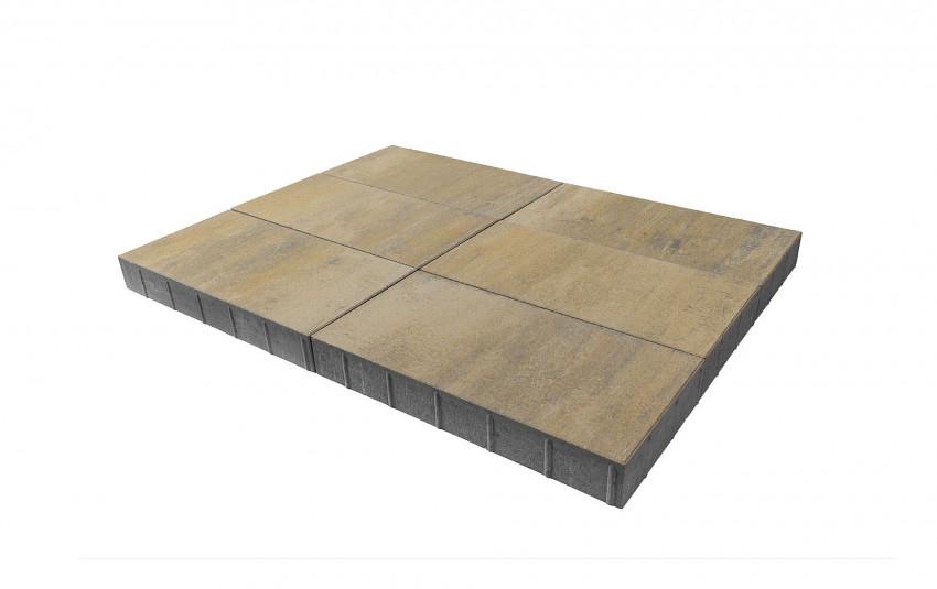 "Тротуарная плитка BRAER Сити, ""Песчанник"", h=80 мм"
