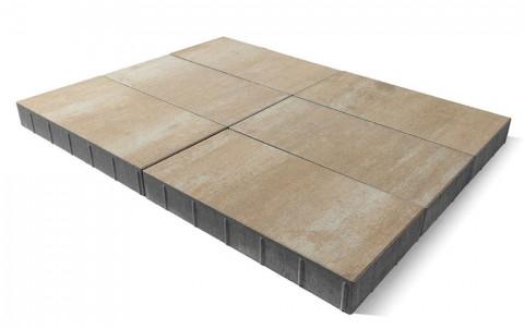 Тротуарная плитка BRAER Сити, плато, h= 80
