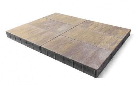 Тротуарная плитка BRAER Сити, степь, h= 80