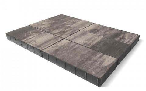 Тротуарная плитка BRAER Сити, туман, h= 80