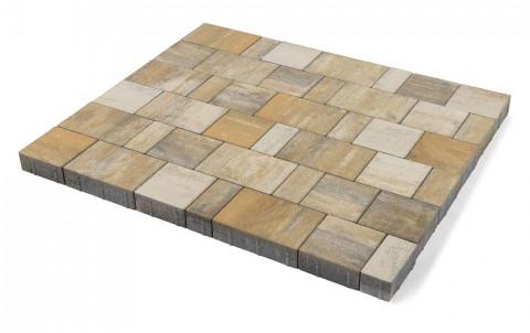 Тротуарная плитка BRAER Старый город Ландхаус, песчаник, h= 60
