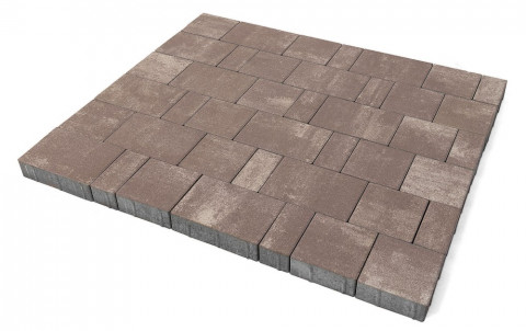 Тротуарная плитка BRAER Старый город Ландхаус, эверест, h= 80