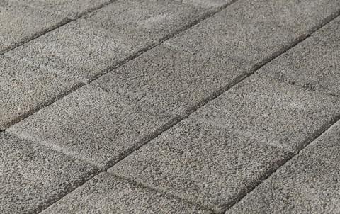 Тротуарная плитка BRAER Сити, гранит на сером, h= 80