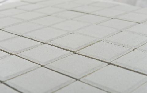 Тротуарная плитка BRAER Сити, белый, h= 80, 600x300