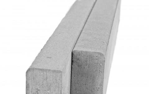 Бордюр тротуарный BRAER БР 100.20.8 Серый, однослойный