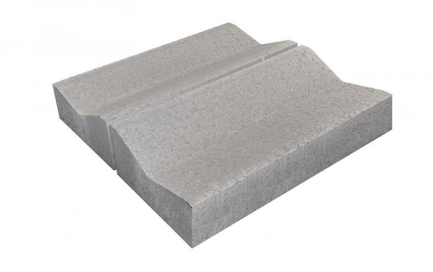 BRAER Дорожный лоток водоотводный ЛВ 50.20.6 серый