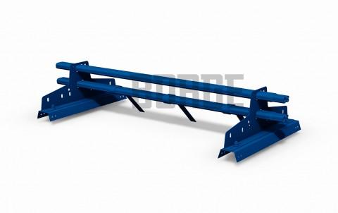 снегозадержатель BORGE для профнастила H-114 цвет RAL5005, 1m