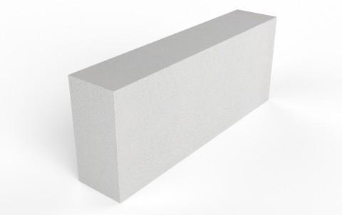 Газобетонный перегородочный блок D500 Bonolit (125 мм)