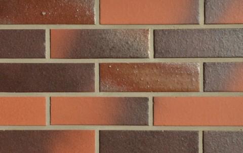 Клинкерная плитка для фасада ABC klinkergruppe Ziegelriemchen Buxtehude, 240x71x10