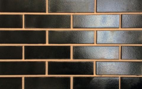 Клинкерная плитка для фасада ABC klinkergruppe Silberschwarz glatt, 240x71x10