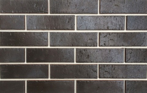 Клинкерная плитка для фасада ABC klinkergruppe Rustik Schwarz Nuanciert, 240x71x10