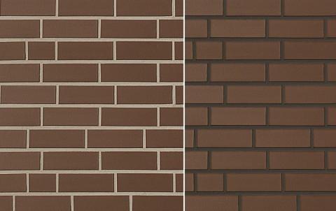 Клинкерная плитка для фасада ABC klinkergruppe Objekta Braun, 240x71x10
